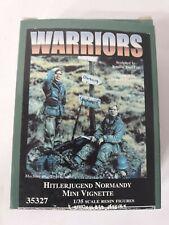 WARRIORS Hitlerjugend Normandy Mini Vignette 1:35 Scale Resin Figure Item #35327