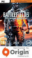 Battlefield 3 Premium Edition Pc Origin Clave