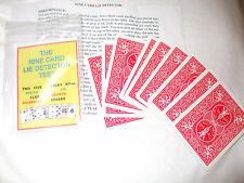 LIE DETECTOR TRICK   ALSO FREE BLINDFOLD CARD TRICK 2 TRICKS FOR A POUND BARGAIN