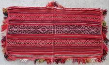 Kilim textile tissage ancien Americain American Peruvien 1900