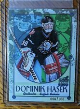New listing Dominik Hasek ICE BLUE 1999-00 Aurora Championship Fever #4 NUMBERED 6/100