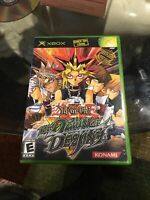 Yu-Gi-Oh The Dawn of Destiny (Microsoft Xbox, 2004) w/ Manual