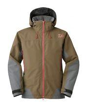 Daiwa Winter Jacke Goretex GT-DW-1506J Brown Gr. L Thermojacke Regenjacke