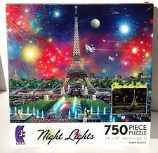 Night Lights Eiffel Tower  -Puzzle 750 Pieces by CEACO
