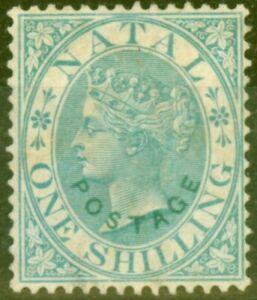 Natal 1870 1s Green SG59 Good Unused