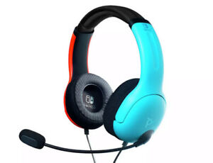 Headphone Only - No Mic - PDP Officially Licensed LVL40 Wired Stereo Headset-