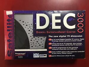 Hauppage DEC 3000 PC Digital Satellite TV Receiver DVB BOXED & NEW
