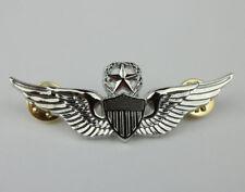 Metal US Army Master Aviator Badge Pin U.S. PILOT WINGS