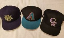 New Era 59/50, Sports Specialties, Fitted Mlb Hats. Lot of 3. 6 5/8, 6 3/4. New