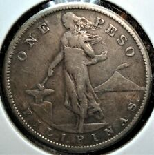 1907-S Silver Peso from the Philippines