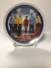 Star Trek TOS Crew Hamilton Collector Mini Plate 1991