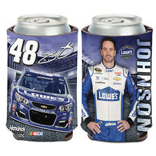 Jimmie Johnson Lowe's Can Cooler 12 oz. NASCAR koozie