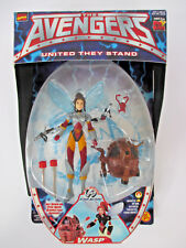 1999 AVENGERS UNITED THEY STAND WASP Action Figure NEW IN PACKAGE Original Marve
