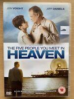 Five People Voi Meet IN Heaven DVD 2004 Mitch Albom Mini Serie W / Jon Voight