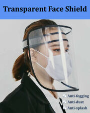 Safety Protective Splash Proof Full Head-mounted Face Eye Shield Clear Screen