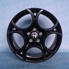 Set 4 cerchi in lega per Alfa Romeo Giulietta da 17 5x110 F582 Black (AB)