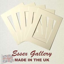 Picture And Photo Frame Mounts CREAM - (Listings Reset - Thousands Sold)