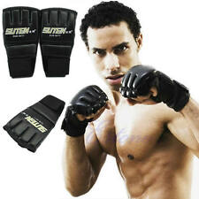Cool MMA Muay Thai Training Gym Punching Bag Half Mitts Sparring Boxing Gloves