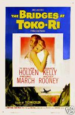 The bridges at Toko-Ri Grace Kelly movie poster print