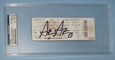 Stephen Strasburg Signed SDSU Aztecs Full Baseball Game Ticket PSA/DNA 2009 Auto