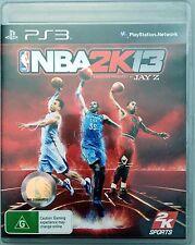 NBA2k13 Jay Z (VERY GOOD COND) PS3 Game Aus Pal Playstation 3 Basketball NBA 2k