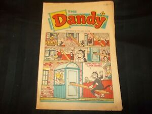 DANDY Comic Issue #1371 March 2nd 1968 Korky and the Seesaw
