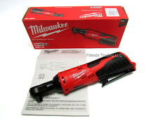 "Milwaukee M12 12V 12 Volt Lithium Ion Compact 3/8"" Socket Ratchet Wrench 2457-20"