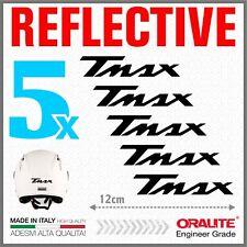 5x TMAX Black YAMAHA 01-07 500 530 ADESIVI PEGATINA STICKERS AUTOCOLLANT