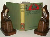 Alice's Adventures In Wonderland - Illustrated - 1928 Macmillan Lewis Carroll -