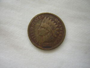 1878 Indian Head Cent