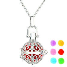 "Aromatherapy Essential Oil Diffuser, Perfume Locket, Pendant, Necklace 18"" - USA"
