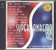 Supersanremo '96 DHAMM VALLESI MINGHI BINDI JALISSE SYRIA NERI PER CASO 2 CD