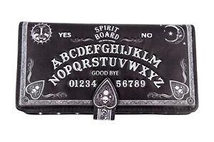 Nemesis Now Spirit Board Ouija Board 3D Embossed Black Wallet Wiccan Gothic Gift