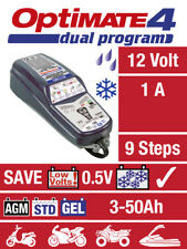 OptiMate 4 12V Dual Programme Battery Charger & Optimiser - CAN Bus Compatible