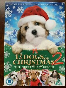 12 Dogs of Christmas DVD 2012 Animated Feature Film Movie w/ Slipcover