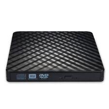 grabador de DVD delgado usb3.0 unidad externa corrugada Negro K3I1