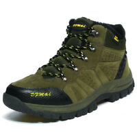 Men Winter Athletic Sneakers Hiking Climbing Ankle Boots Lace Up Shoes  AU