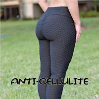 High Waist Yoga Pants Fitness Leggings Womens Workout Push Up Trousers Solid YC