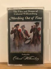 Pre-owned ~ Marching Out Of Time by Colonial Williamsburg (1989, Audio Cassette)