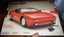 TESTORS FUJIMI NISSAN MID4 V6 TWIN CAM 1/24 Model Car Mountain KIT fs