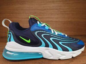 Nike Air Max 270 React ENG Blue Green Strike Shoe (CJ0579-400) Men's Size 9.5
