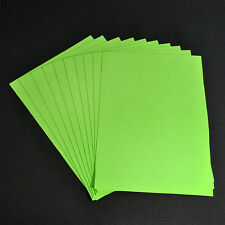 A4 Sheets Felt Fabric Crafting 1mm thick sewing Glue Scrapbooking DIY YK