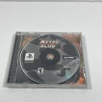 PS1 Metal Slug X (Sony PlayStation 1, 2001) No Manual/Coverart Tested working