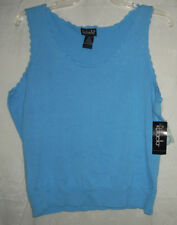 NWT ~ $36 RA Career / Dress Tunic Top Vest Misses (matches Skirt) Sea Blue 16 XL