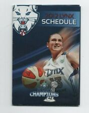 2012 MINNESOTA LYNX POCKET SCHEDULE (SKED) (WNBA) A