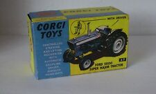 Repro Box Corgi Nr. 67 Ford 5000 Super Major Tractor