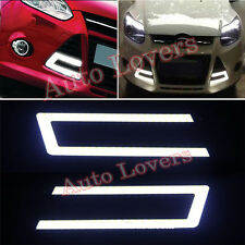 ★Waterproof White Cob Car DRL U Shape Fog Lamp Day Light 6000-Maruti Baleno★