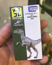 Tomy Takara Jurassic World Velociraptor Blue Dinosaur metal figurine figure