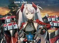 Azur Lane Vol.5 First Limited Edition Blu-ray Booklet Serial Code Case
