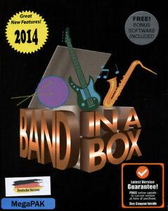 Band-in-a-Box 2014 MegaPAK MAC, dt. (PC)
